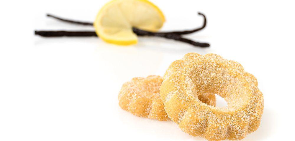 Biscotti di pasta frolla, canestreli